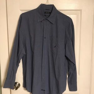 Nautica men's longsleeve dress shirt